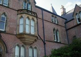 Methodist College, Belfast – Aluminium Rainwater System