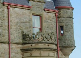 Belfast Castle, Belfast – Cast Iron Radius Gutter – Painted Finish