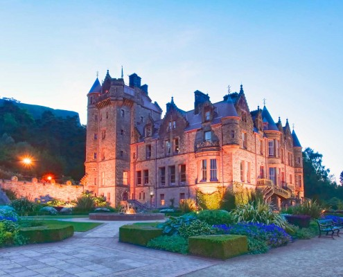 Architectual Guttering for Belfast Castle