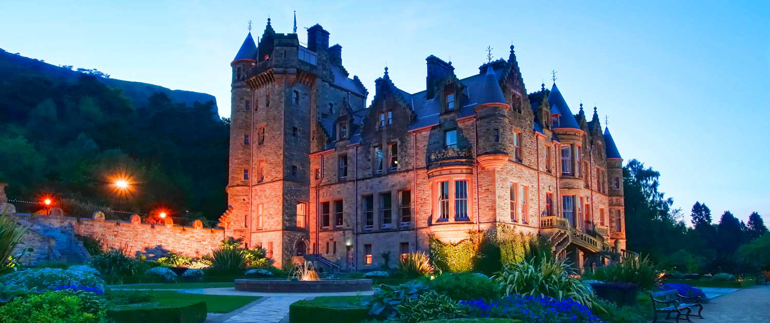 Architectural Guttering at Belfast Castle